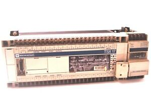 Used Telemecanique Schneider Automation Tsx1724012 Cpu Controller