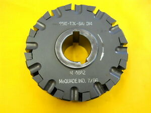 Used Carbide Insert Face Mill Side Milling Cutter Mcquade 9515 t30 sa1 d14