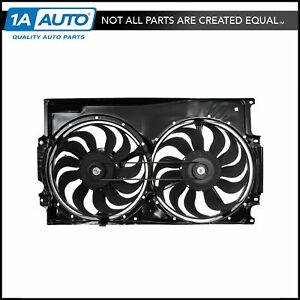 Radiator Cooling Fan Assembly W Motor For Vw Volkswagen Golf Jetta Passat