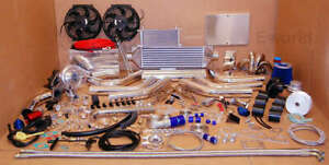 485hp Turbo Kit 90 93 B16a Integra Rsi xsi Jdm T3 Rare Stainless Steel Package