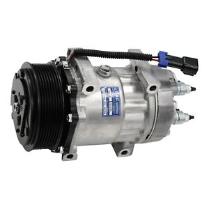 Ford International Ac Compressor 4816 With Clutch Sanden Type Oe 3547917c1