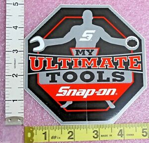 Genuine Official Snap On Tools My Ultimate Tools Sticker Decal Brand New
