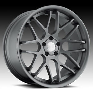 20 Staggered Euro Tek Wheels 5x114 3 Rim Fit Ford Mustang 1994 2004