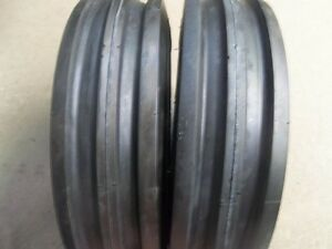 Two 350x6 350 6 3 50x6 3 50 6 Front 3 Rib Cub Cadet Easy Steer Tires With Tubes