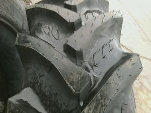 Two 16 9r28 Allis Chalmers 6060 Radial Tubeless R 1 Tractor Tires