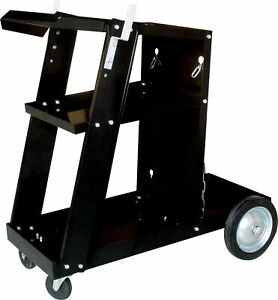 Universal Welding Cart W Tank Storage For Mig 100 131 135 Mag Arc 100 200 250