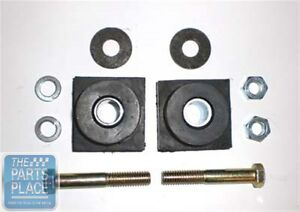 1964 72 Oldsmobile Cutlass 442 W 30 W 31 Core Support Square Bushing Kit