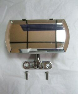 1932 1933 1934 Ford Cabriolet Convertible Stainless Inside Rear View Mirror