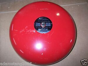 Fire Alarm Kidde Fenwal 508724 486n 24vdc 87 Db 03amp Bell Polarized