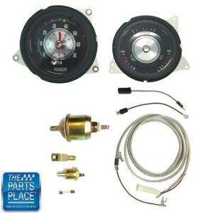 1970 72 Cutlass 442 Rally Pack Tach Gauges With Rally Pack Installation Kit