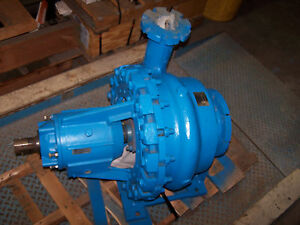 Rebuilt Allis Chalmers 4x8 Stainless Centrifugal Pump