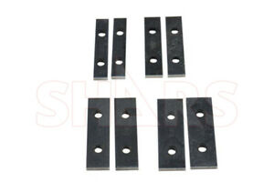 Out Of Stock 90 Days Shars 8 Pcs Thin Parallel Angle Block Set New