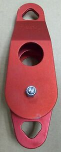 new Rescue Systems Inc rsi 3 Double Sheave Pulley With Becket Red