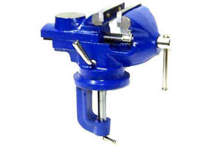 2 Swivel Bench Vise Clamp With Anvil Vice Hobby Tool Table Vise Type 50mm