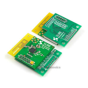 2pcs 2 4ghz Mrf24j40 Wireless Uart Communication Module