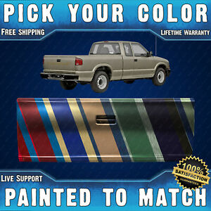 New Painted To Match Chevy S10 Truck Tailgate Gmc Sonoma Tail Gate For 94 04
