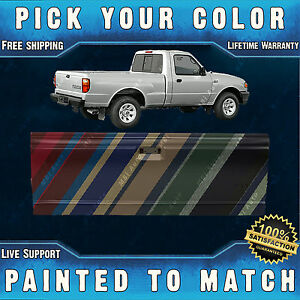 New Painted To Match Rear Tailgate For 1993 2005 Ford Ranger Mazda B2300 Truck