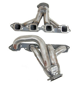 Big Block Chevy 1970 Up Chevy Gmc Truck Plain Steel Exhaust Headers Bbc Bb4 P