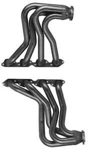 Big Block Chevy 1932 48 Car Truck Full Length Plain Steel Exhaust Headers C5s P