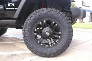 Xd Monster 18 Wheels 285 65 18 Nitto Trail Grappler