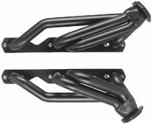 Small Block Chevy 1 3 4 2wd S 10 Blazer Silver Coated Exhaust Headers Sbc