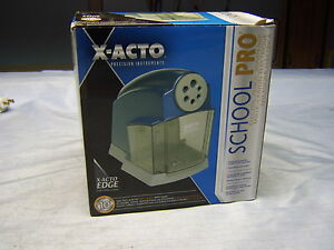 X acto School Pro Various Size Pencil Sharpener In Fine Condition
