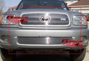 Fits 2001 2004 Toyota Sequoia Billet Grille Combo