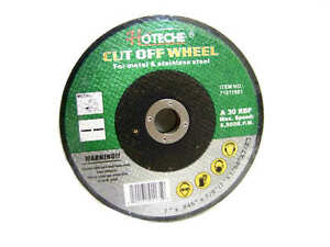 Cut Off Wheel For Stainless Metal 8500 Rpm 7 X 3 64 X 7 8 Cutting Grinding