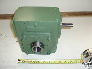 Ohio Gear Speed Reducer sm 262 Ratio 20 1 Torque 1308 In lbs