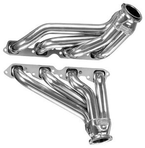 Big Block Chevy 1968 1987 Pickup Silver Coated Exhaust Headers Bbc Bb8 Sec