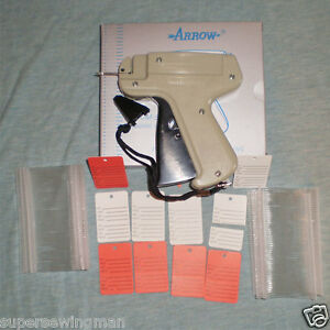 Clothing Price Label Tagging Tagger Gun Dennison Style 500 Barb 50 Price Labels
