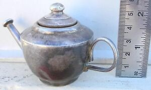 Antique Sterling Old Silver Water Pot Rajasthan India