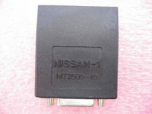 Snap On Scanner Mt2500 Solus Ethos Modis Verus Nissan 1 Adapter Mt2500 40