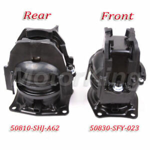 For Honda Odyssey Touring Ex l Rear Front Engine Motor Mount 4583 4575 M326