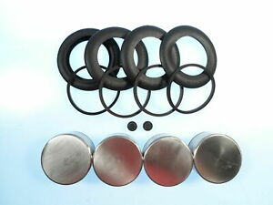 Mgc 1967 1968 1969 New Stainless Steel Front Caliper Piston Seal Kit