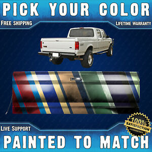 New Painted To Match Complete Rear Tailgate For 1987 1996 Ford F150 F250 F350