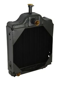Case Ih Tractor Radiator Fits Model 580c Oe Part D89103