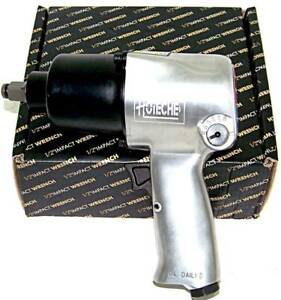 Air Impact Wrench 1 2 Twin Hammer Max Torque 750 Ft Lb 5 Torque Settings