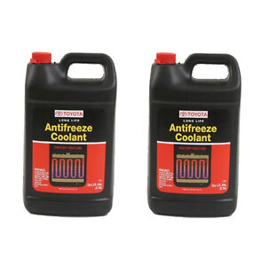 For Lexus Toyota Engine Coolant Antifreeze Red 2 Gallons Genuine 00272 1llac