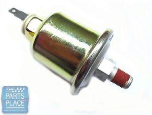 64 66 Gto Lemans 60 Lb Oil Pressure Sending Unit For Cars With Rally Gauges
