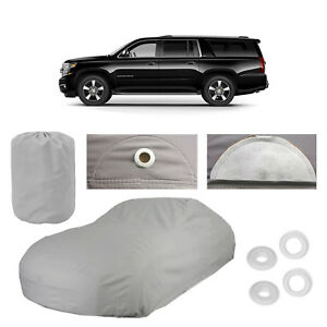 Chevy Suburban 5 Layer Car Cover Fit Outdoor Water Proof Rain Snow Dust New Gen