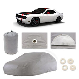 Fits Dodge Challenger Srt 6 Layer Car Cover Outdoor Fit Water Proof Rain Uv Dust
