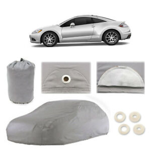 Mitsubishi Eclipse 5 Layer Car Cover Fit Outdoor Water Proof Rain Snow Sun Dust