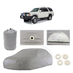 Fits Toyota 4runner 5 Layer Suv Car Cover Outdoor Water Proof Rain Sun 3rd Gen