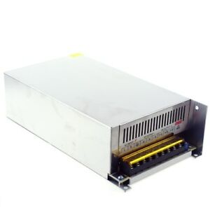 12v 50a Ac To Dc Universal Regulated Switching Power Supply Mains Us