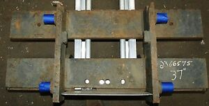 2366575 Clark Forklift Upright Mast Carriage Weld Class 2 Ii Used 37 x16
