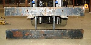 2800843 Clark Forklift Upright Mast Carriage Weld Class Iv 4 New 61 x25