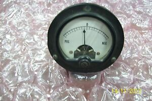 Simpson Electronic G525 Used Analog Panel Meter