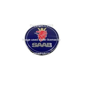 For Saab 9 3 Trunk Emblem Genuine 5289897