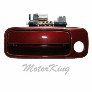 For 97 01 Toyota Camry Outside Door Handle Burgundy 3n6 Front Left Driver B469